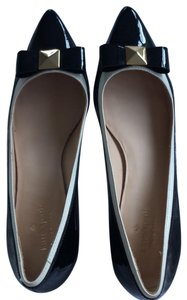 Kate Spade black and white Flats