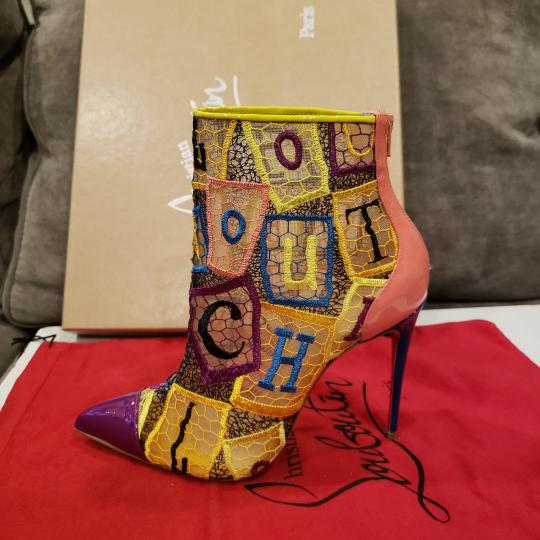 Christian Louboutin Heels Lace Gipsy Alpha Multi Boots Image 7
