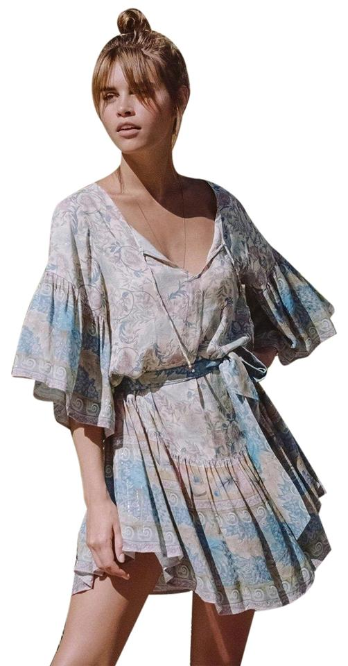 9e8b6fd7330d Spell & the Gypsy Collective Opal Oasis Mini Short Casual Dress Size ...