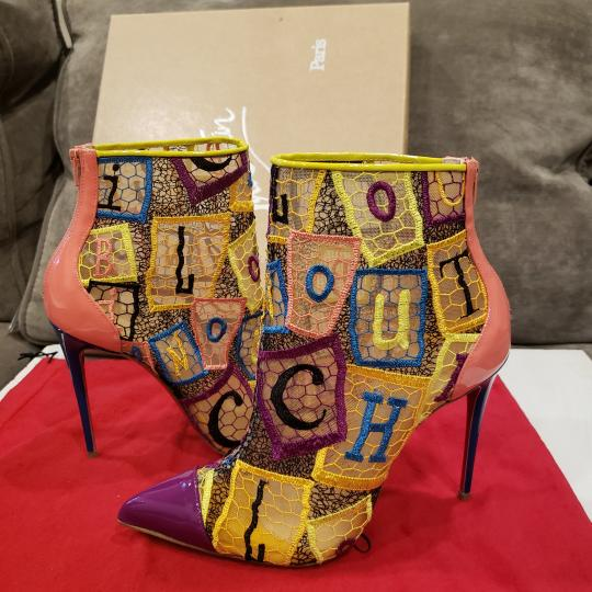 Christian Louboutin Heels Lace Gipsy Alpha Multi Boots Image 10