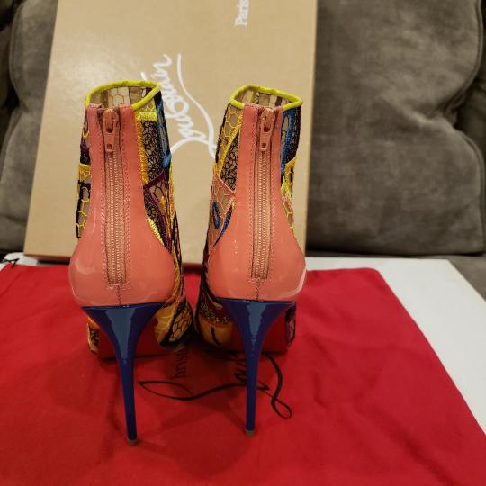 Christian Louboutin Heels Lace Gipsy Alpha Multi Boots Image 3