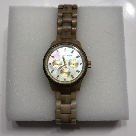 Michael Kors Michael Kors 5039 Jersey Mother of Pearl Watch Image 1