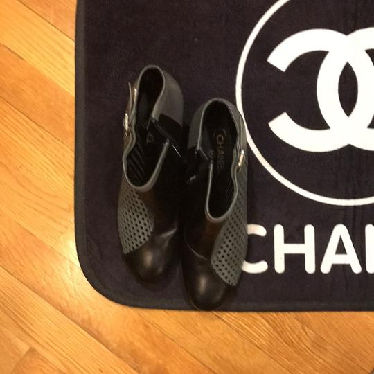 Chanel black and gray Boots Image 2