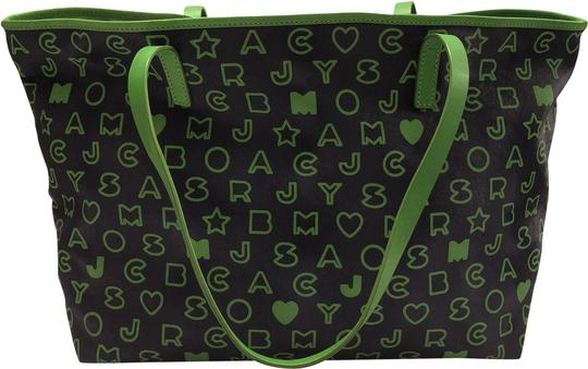Preload https://img-static.tradesy.com/item/24751984/marc-by-marc-jacobs-blue-and-green-polyurethane-tote-0-1-540-540.jpg