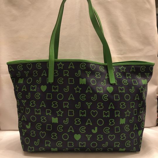 Marc by Marc Jacobs Tote in blue and green Image 1