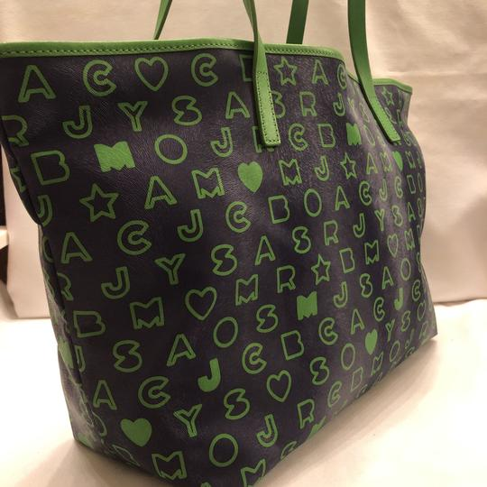 Marc by Marc Jacobs Tote in blue and green Image 10
