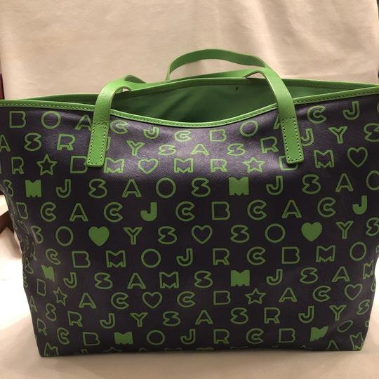 Marc by Marc Jacobs Tote in blue and green Image 2