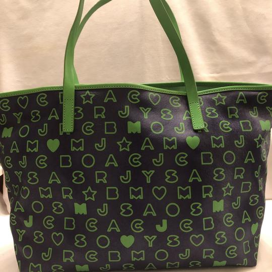 Marc by Marc Jacobs Tote in blue and green Image 9