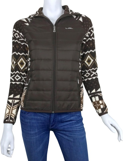 Preload https://img-static.tradesy.com/item/24752009/lauren-ralph-lauren-brown-active-tribal-aztec-fleece-jacket-activewear-size-petite-4-s-0-2-650-650.jpg