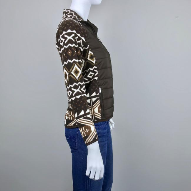 Lauren Ralph Lauren Fleece Jacket Athletic Aztec Jacket Image 3