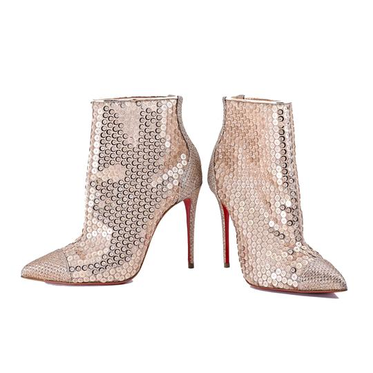 Christian Louboutin Nude Boots Image 1