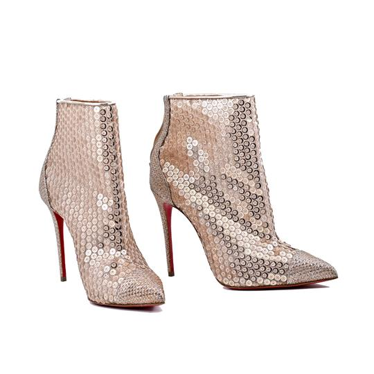 Christian Louboutin Nude Boots Image 3