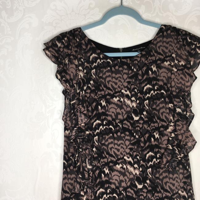 Madewell short dress Black Silk Ruffle on Tradesy Image 1