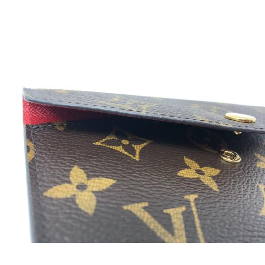 Louis Vuitton Daily Organizer Envelope Red Insert Image 4