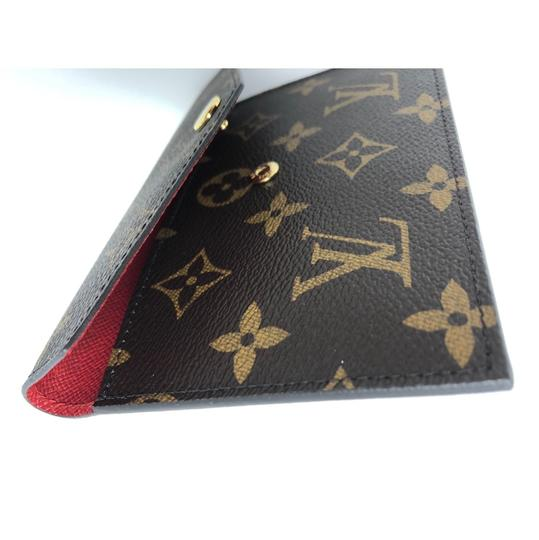Louis Vuitton Daily Organizer Envelope Red Insert Image 6