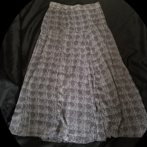 na Maxi Skirt Black and white mixed