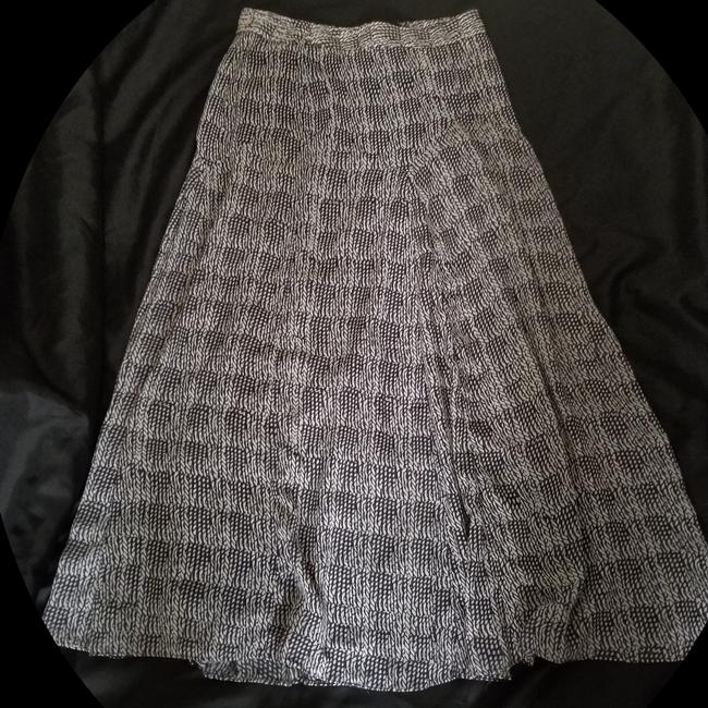 na Maxi Skirt Black and white mixed Image 1