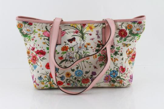Gucci Floral Botanical Tote in Multicolor Image 1