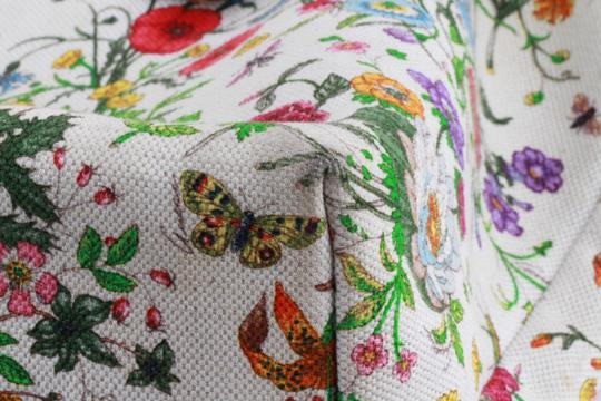 Gucci Floral Botanical Tote in Multicolor Image 11