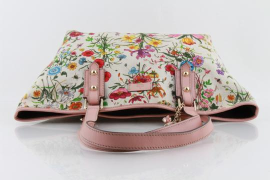 Gucci Floral Botanical Tote in Multicolor Image 3