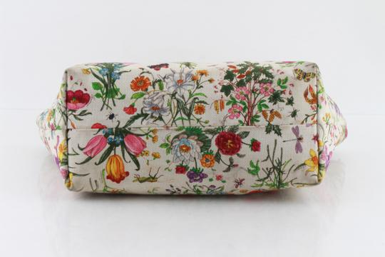 Gucci Floral Botanical Tote in Multicolor Image 4