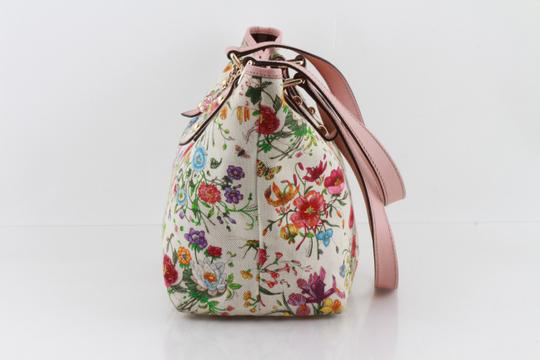 Gucci Floral Botanical Tote in Multicolor Image 5