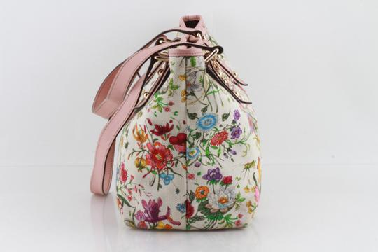 Gucci Floral Botanical Tote in Multicolor Image 6