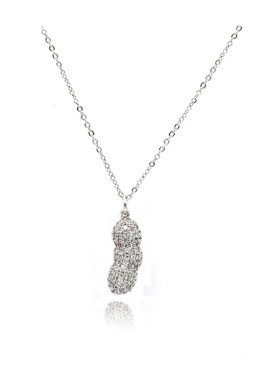 Preload https://img-static.tradesy.com/item/24752386/silver-exquisite-peanut-crystal-pendant-necklace-0-0-540-540.jpg