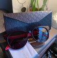 Gucci Authentic Gucci 52mm Rounded cat Signature adjustable sunglasses Image 2