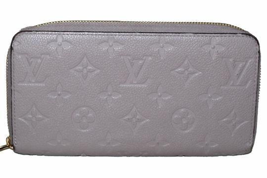 Louis Vuitton Louis Vuitton Mastic Monogram Empreinte Leather Zippy Wallet Image 1