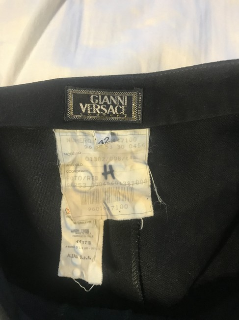 Versace Couture Skirt Black Image 4