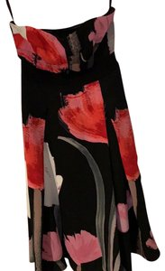 Rachel Roy short dress black pink and red on Tradesy