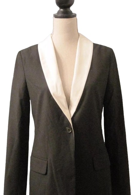 Elizabeth and James Black White New Sami Blazer Size 6 (S) Elizabeth and James Black White New Sami Blazer Size 6 (S) Image 1
