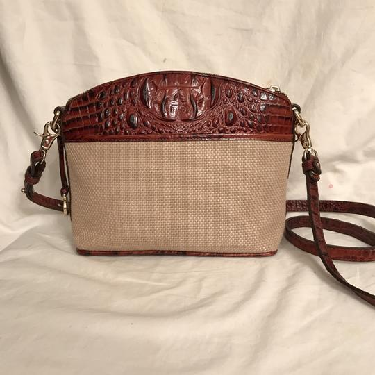 Brahmin Purse Handbag Shoulder Clutch Weekend/Travel Cross Body Bag Image 1