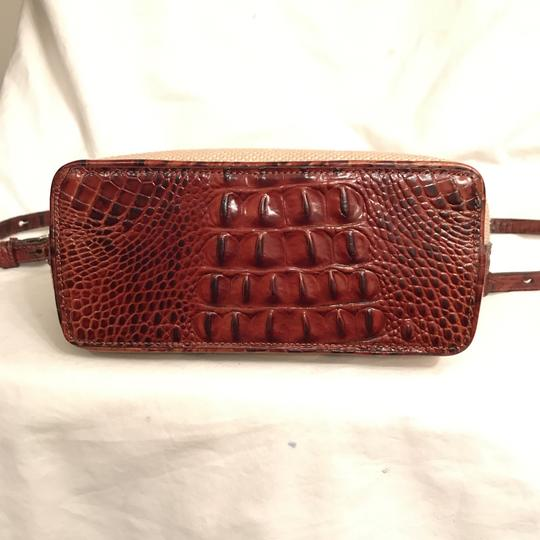 Brahmin Purse Handbag Shoulder Clutch Weekend/Travel Cross Body Bag Image 5