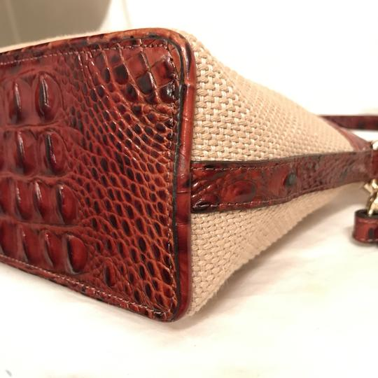 Brahmin Purse Handbag Shoulder Clutch Weekend/Travel Cross Body Bag Image 6