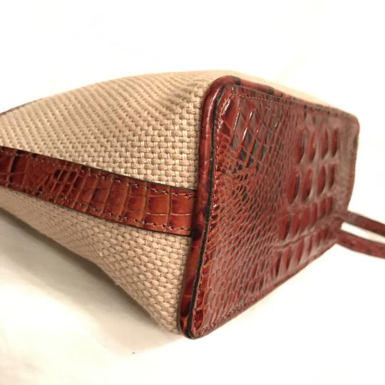 Brahmin Purse Handbag Shoulder Clutch Weekend/Travel Cross Body Bag Image 7