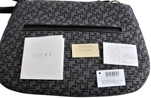 Loewe With Made In Spain Textile And Leather Shoulder Bag