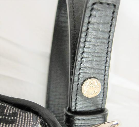 Loewe With Made In Spain Textile And Leather Shoulder Bag Image 3