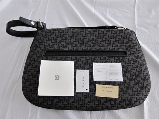 Loewe With Made In Spain Textile And Leather Shoulder Bag Image 4