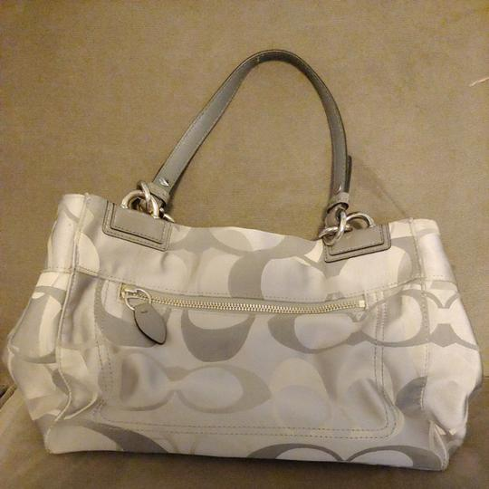 Coach Tote in Gray Image 1