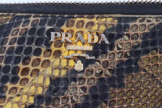 Prada Prada Natural Python Zip-Around Wallet Image 7