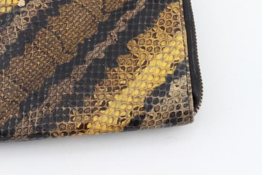 Prada Prada Natural Python Zip-Around Wallet Image 8