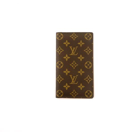 Preload https://img-static.tradesy.com/item/24752755/louis-vuitton-brown-rare-vintage-monogram-canvas-leather-oversized-long-travel-wallet-0-0-540-540.jpg