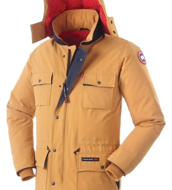 Preload https://img-static.tradesy.com/item/24752788/canada-goose-maize-levi-s-banff-parka-limited-edition-coat-size-12-l-0-1-650-650.jpg
