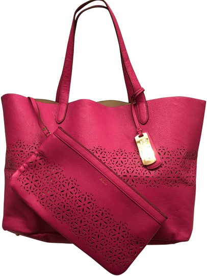 Preload https://img-static.tradesy.com/item/24752813/ralph-lauren-hot-pink-faux-leather-tote-0-1-540-540.jpg