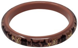 Louis Vuitton Resin Louis Vuitton Narrow Inclusion bangle