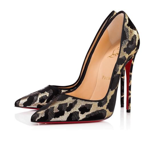 Preload https://img-static.tradesy.com/item/24752883/christian-louboutin-black-so-kate-120-gold-silver-lurex-feline-stiletto-classic-heel-pumps-size-eu-3-0-0-540-540.jpg