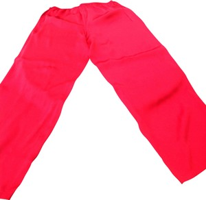 Unbranded Red silk pajama pants size medium