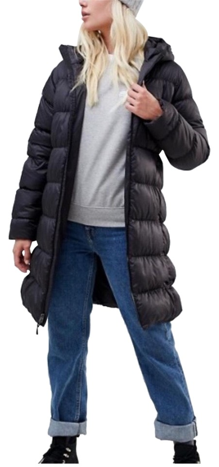 4b5f97a6d Black Downtown Parka Coat